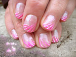 Nageldesign und Nailart im Lollipop-Stil